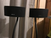 Bose speakers/stand in Bolingbrook, Illinois