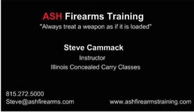 concealed carry class for Illinois in Yorkville, Illinois