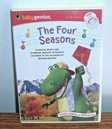 SEALED Baby Genius The Four Seasons CD DVD Classical Music Mother Nature 0-36mon in Plainfield, Illinois