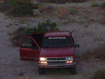 1997 CHEVY SILVERADO 4X4 NICE INSIDE AND OUT in 29 Palms, California