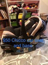 Chicco Car Seat and Base in Okinawa, Japan