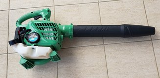 Hitachi 24-cc 2-cycle 170-MPH 441-CFM Handheld Gas Leaf Blower in Okinawa, Japan