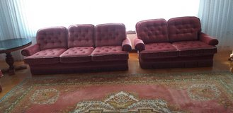 2 couch and armchair in Ramstein, Germany