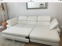 White Sofa with bed in Wiesbaden, GE