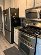 Maytag appliances - sold together or separate..refrigerator,stove,microwave in Orland Park, Illinois