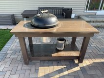 Custom Weber Grill Table in Naperville, Illinois