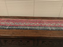 Old Chinese Tribal Cloth Runner in Okinawa, Japan