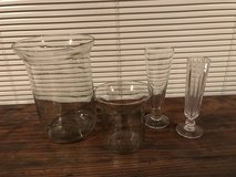 4 Glass Vases in Okinawa, Japan