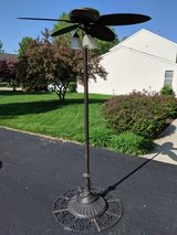 Outdoor Patio Lights and Fan in Yorkville, Illinois