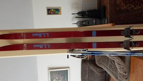 LL Bean cross country skis set in Ramstein, Germany