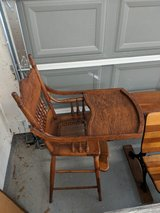 antique highchair in Kingwood, Texas