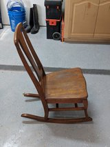 antique rocking chair in Kingwood, Texas