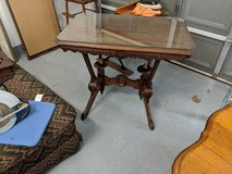 antique table in Kingwood, Texas