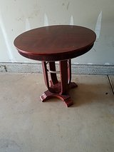 High top table in Yorkville, Illinois