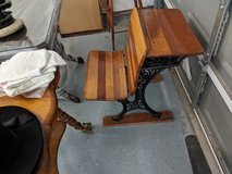 antique school desk in Kingwood, Texas
