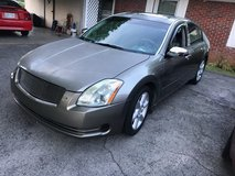 2005/Nissan Maxima Runs and drives in Fort Campbell, Kentucky