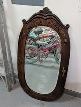 antique wooden mirror in Kingwood, Texas