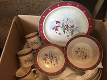 Adorable Christmas stoneware set in Joliet, Illinois