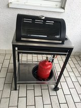 Outdoor gas grill in Ramstein, Germany