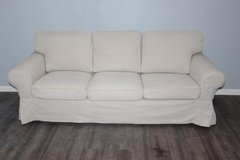 Ikea EKTORP Sofa With removable cover in CyFair, Texas
