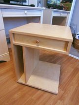 end table or night stand can be use for a printer or for a childs room has a drawer - in Alamogordo, New Mexico