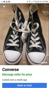 Converse youth size 3 in Houston, Texas
