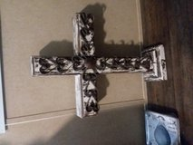 Large wooden cross in Baytown, Texas
