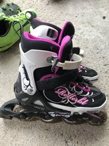 Women's adjustable roller blades - size 5-8 in Joliet, Illinois