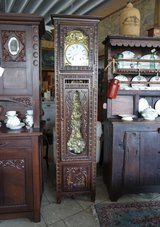 beautiful Breton grandfather clock with Comtoise works in Wiesbaden, GE