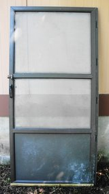 Industrial Commercial Aluminum Screen Door Left Hand 39 x 83 in Macon, Georgia