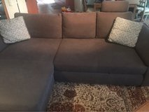 mint condition gray sectional couch in Wiesbaden, GE