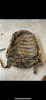Usmc APB03 assault pack CIF GEAR in Camp Pendleton, California