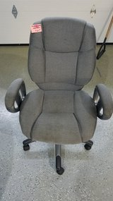 Gray, Adjustable, Hydraulic Office Chair in Naperville, Illinois