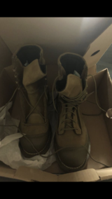 Size 9 RAT boots in Camp Pendleton, California