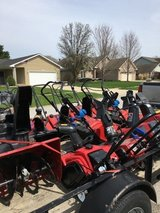 Lots of misc. John Deere tractors zeroturn trimmers edgers snow blower etc in Sandwich, Illinois