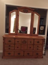 dresser with mirror and matching nightstand in Lakenheath, UK