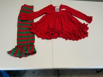 3t girls Christmas outfit in Joliet, Illinois