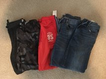 Lot of boys pants size 12 in Bolingbrook, Illinois