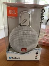 JBL Clip3 Bluetooth Silver New in Box in Bolingbrook, Illinois