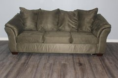 Sage Green sofa Bed in Kingwood, Texas