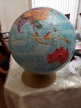 World Globe in Joliet, Illinois