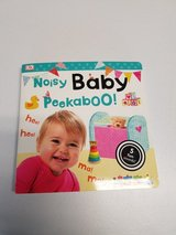Noisy Baby Peekaboo Book in Aurora, Illinois