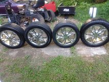 Nice set of wheels and tires in Clarksville, Tennessee