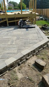 patios, retaining wall, decorative estone in Yorkville, Illinois