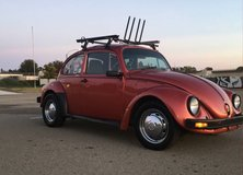 1974 VW Beetle in Camp Pendleton, California