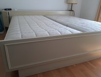 Complete set of king size bed with dresser in Ramstein, Germany