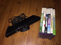 Xbox 360 Kinect and games in Okinawa, Japan
