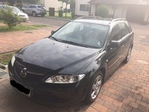 2004 Mazda 6 Wagon, Manual 5 Speed, Runs great, gas saver, roomy, great value! in Wiesbaden, GE