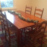 Hickory Solid Cherry dining room set in Chicago, Illinois
