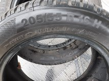 Continental conti winter contact tires in Spangdahlem, Germany